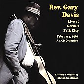 Rev. Gary Davis: Live at Gerdes Folk City 1962