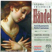 H&auml;ndel: Solokantaten / Veronika Winter, Kleine Konzert