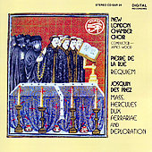 Des Pr&#233;z, La Rue: Masses / New London Chamber Chorus
