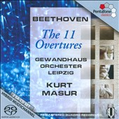 Beethoven: The 11 Overtures / Masur