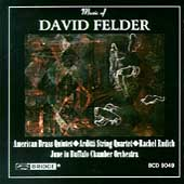 Felder: Journal, etc / American Brass Quintet, et al