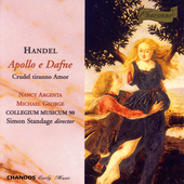 Handel: Apollo e Dafne, etc / Argenta, George, Standage
