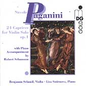 Paganini: 24 Caprices with Piano / Schmid, Smirnova