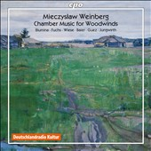 Mieczyslaw Weinberg: Chamber Music for Woodwinds / Henrik Wiese, Wenzel Fuchs, Elisaveta Blumina