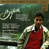 Songs of Handel, Schubert, Brahms & Britten / Bejun Mehta