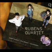 Rubens Quartet plays Josquin Desprez, W.A. Mozart, Joey Roukens