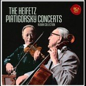 The Heifetz Piatigorsky Concerts [2012] (21 CDs)