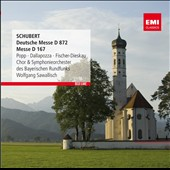 Schubert: German Mass, D 872; Mass D 167 / Popp, Dallapozza, Fischer-Dieskau. Sawallisch