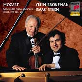 Mozart: Violin Sonatas K 304, 377, etc / Stern, Bronfman