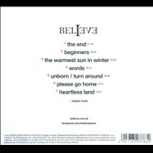 Believe: The Warmest Sun In Winter [Digipak] *