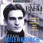 Bach: Sonatas & Partitas for Solo Violin / Milenkovich