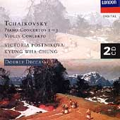 Tchaikovsky: Piano Concertos 1-3, etc / Postnikova, Chung