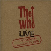 The Who: Live: Irvine CA 9/15/02 [Slipcase]