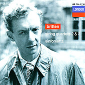 Britten: String Quartets 2 & 3, etc / Amadeus Quartet