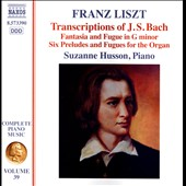 Franz Liszt: Complete Piano Music, Vol. 39 - Bach Transcriptions / Suzanne Husson, piano