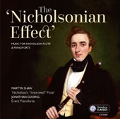 Charles Nicholson (1795-1837): Music for Flute / Martyn Shaw, flute; Jonathan Gooing, piano