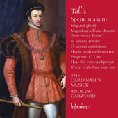 Thomas Tallis (1505-1585): Motets & Songs / Andrew Carwood, The Cardinall's Musick