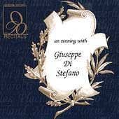 Recitals - An Evening with Guiseppe Di Stefano