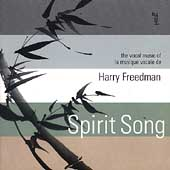 Harry Freedman: Vocal Music