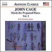 American Classics - Cage: Music for Prepared Piano Vol 2