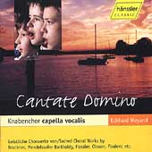 Cantate Domino / Eckhard Weyand, Knabenchor Capella Vocalis