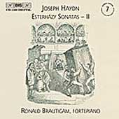 Haydn: Keyboard Sonatas Vol 7 - Esterhazy II / Brautigam