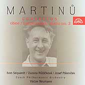 Martinu: Concerts / Neumann, S&#233;quardt, Ruzickova, et al