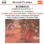 Spanish Classics - Rodrigo: Complete Orchestral Works Vol 2