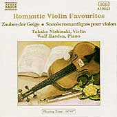 Romantic Violin Favourites / Takako Nishizaki, Wolf Harden