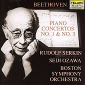 Beethoven: Piano Concerto no 1 & 3 / Serkin, Ozawa