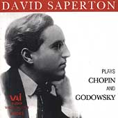 David Saperton Plays Chopin and Godowsky