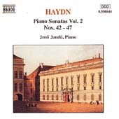 Haydn: Piano Sonatas Vol 2 / Jen&ouml; Jand&oacute;