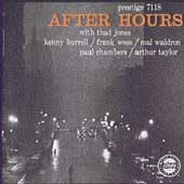 Kenny Burrell/Wess/Frank Wess/Thad Jones: After Hours