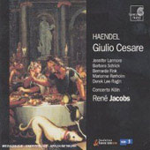 Handel. Giulio Cesare. Concerto Koln, R.jacobs