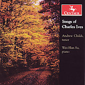 Songs of Charles Ives / Andrew Childs, Wei-Han Su