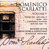 D. Scarlatti: Complete Sonatas Vol 5 / Richard Lester