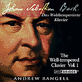 Bach: Well-Tempered Clavier, Bk 1 / Andrew Rangell