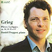 Grieg: Lyric Pieces / Daniel Propper