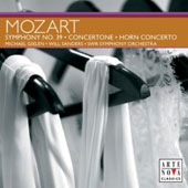 Mozart: Symphony no 39, Horn Concerto, Concertone / Sanders, Ott, Ostertag, Gielen, et al