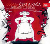 Dvorák: Kate and the Devil / Chalabala, Havlák, Komancová, Asmus, Berman, et al