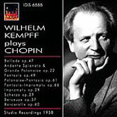Wilhelm Kempff plays Chopin