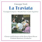 Verdi: La Traviata / Carlo Tagliabue, Umberto Berretoni, Rosetta Noli, Giuseppe Campora