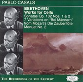 Beethoven: Works for Cello