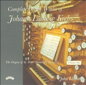Complete Organ Works of Johann Ludwig Krebs, Vol. 6