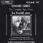 Grieg: Complete Piano Music Vol 8 / Eva Knardahl