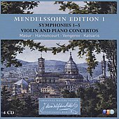 Mendelssohn Edition 1: Symphonies 1-5; Violin and Piano Concertos