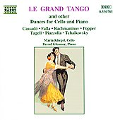 Bernd Glemser (Piano)/Maria Kliegel: Le Grand Tango and Other Dances for Cello and Piano