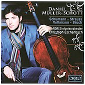 Schumann: Concerto For Cello, Op 129; works by Volkmann, Bruch, Strauss / Daniel Muller-Schott, cello