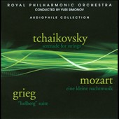Tchikovsky: Serenade For Strings; Mozart: Eine Klein Nachtmusik; Grieg: Holberg Suite