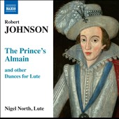 Robert Johnson: Prince's Almain & Other Dances